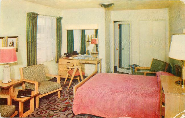 Harolds Pony Express Motel No. 1 Postcard