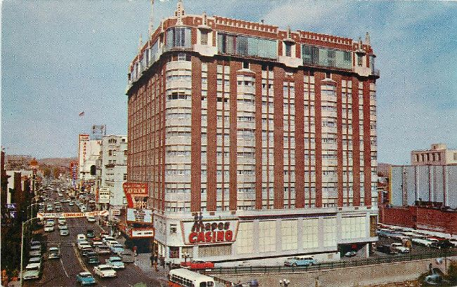 Nevada's Mapes Hotel Postcard