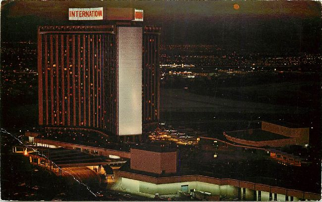 Las Vegas, Nevada International Hotel Postcard