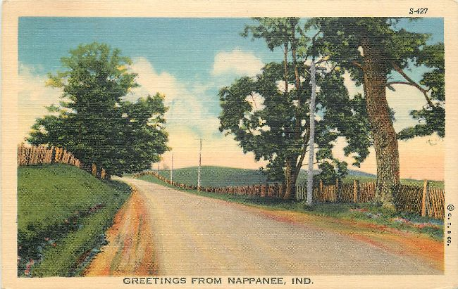 Greetings from Nappanee, IND.