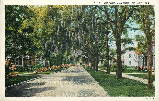 Wisconin Avenue, De Land, FLA.