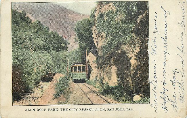 Alum Rock Park, The City Reservation, San Jose, Cal.