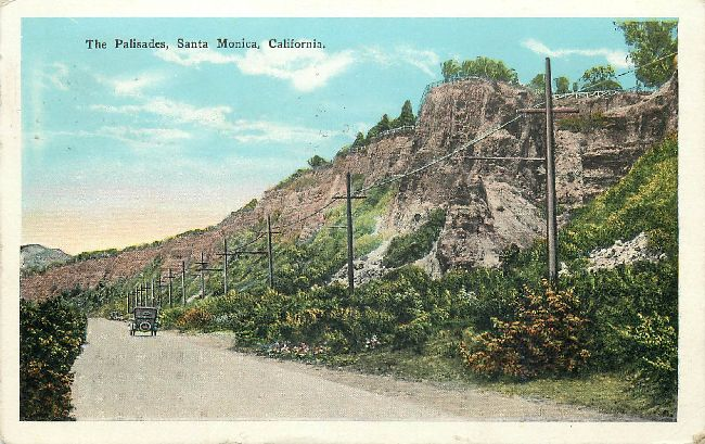 The Palisades, Santa Monica, California