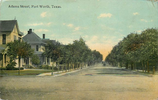 Adams Street, Fort Worth, Texas