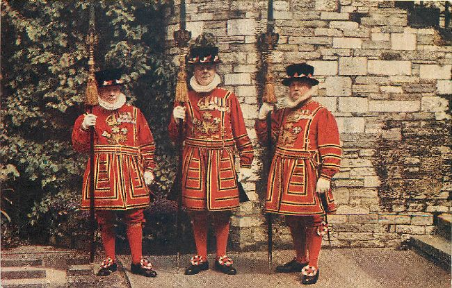 Tower of London - Group of Yeoman Warders