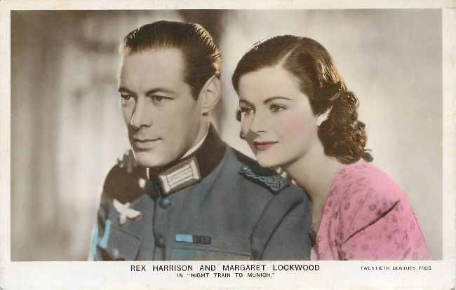 Rex Harrison And Margaret Lockwood OLD POSTCARD