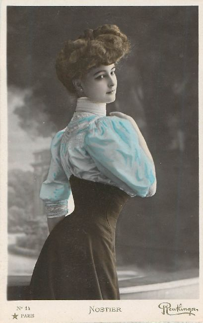 Nostier Actress Postcard Reutlinger Series No.1
