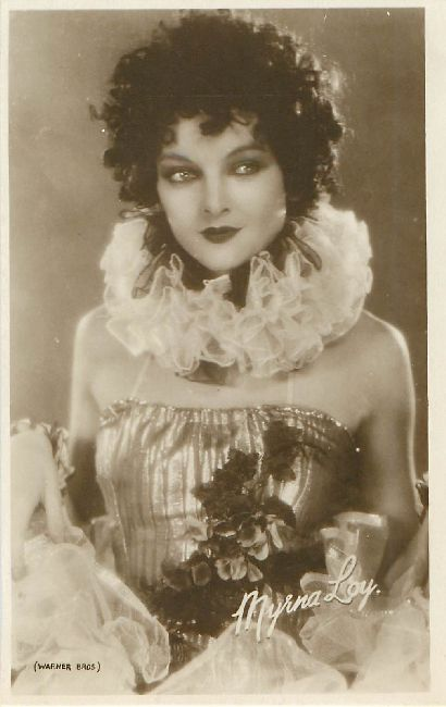 Myrna Loy Cinema Actress Postcard Warner Bros. Postcard