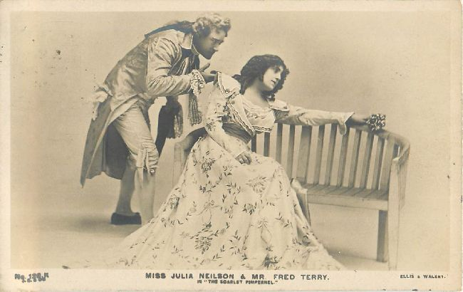 Miss Julia Neilson & Mr. Fred Terry in The Scarlet Pimpernel""