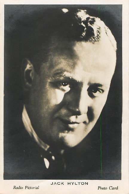 Jack Hylton Radio Pictorial Photo Card Postcard