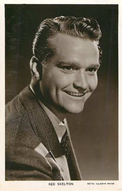 Red Skelton Picturegoer Series No. W 57 Postcard
