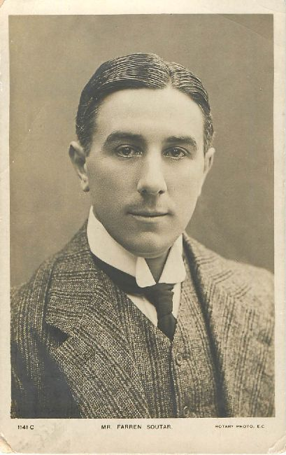 Mr. Farren Soutar Actor Postcard