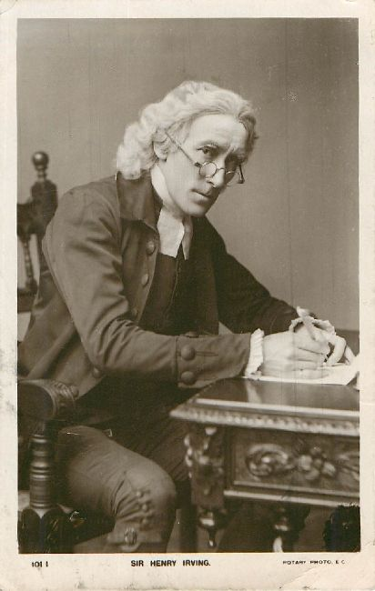 Sir Henry Irving Rotory Photographic Series 1001I Postcard