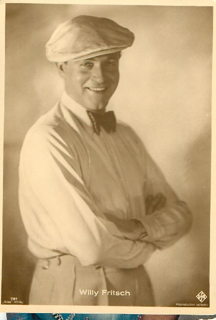 Willy Fritscho Postcard