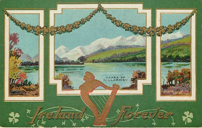 St. Patrick's Day Postcard - Ireland Forever