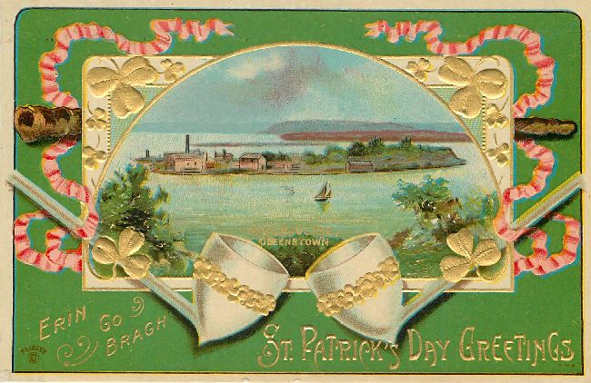 St. Patrick's Day Greetings Postcard - Erin Go Bragh