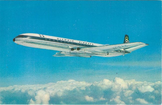 Olympic Airways Postcard