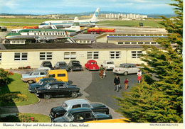 Shannon Free Airport & Industrial Estate, Co Ireland Postcard