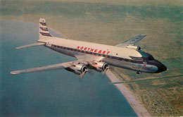 Northeast Airlines Postcard