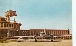 Bucharest Baneasa International Airport Postcard