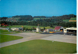 Transair Airport Postcard