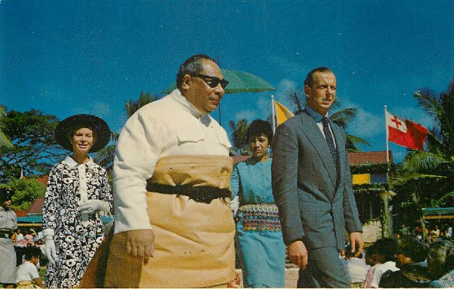 His Majesty King Tupou IV Of Tonga Royalty Postcard