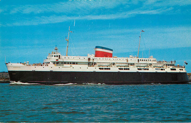 M.V. Bluenose International Car and Passenger Ferry Postcard