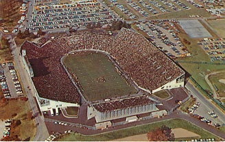 Football Postcard - Purdue University - Ross-ade Stadium