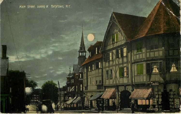 Main Street, looking W. Tarrytown, N.Y.