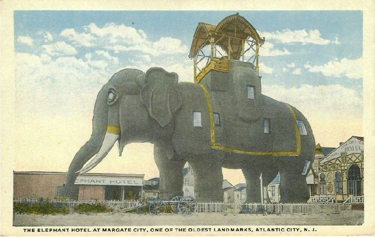 The Elephant Hotel at Margate City, Atlantic City, N.J.