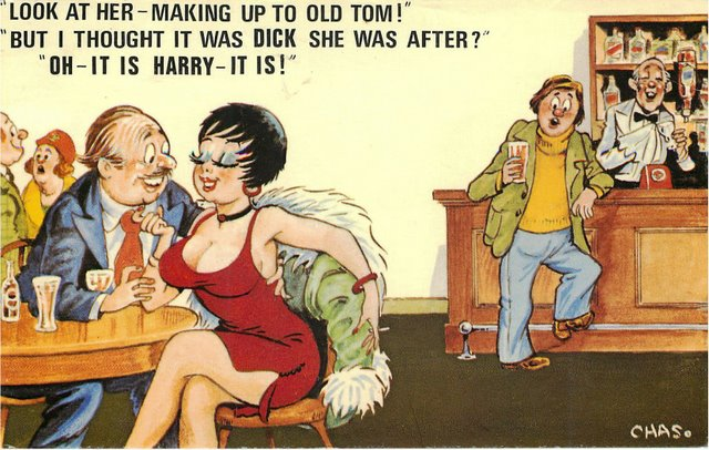 """Bar"" Bamforth Comic"