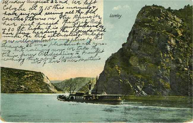 Loreley - Boat at Sail