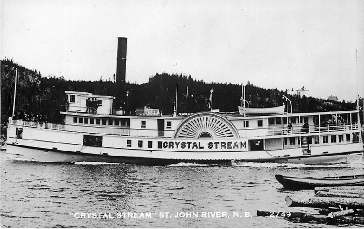 """Crystal Stream"" St. John River, N.B. - No. 2749"