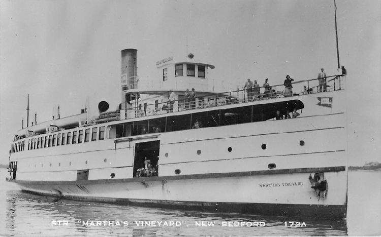 "Str. ""Martha's Vineyard"", New Bedford - No. 172A"