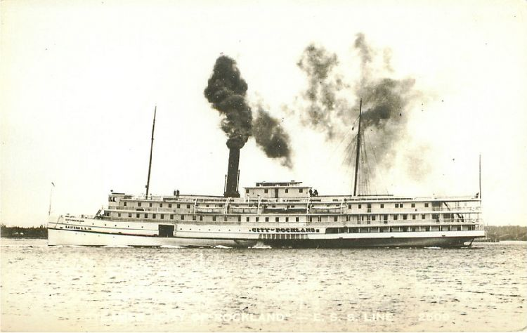 "Steamer ""City of Rockland"""