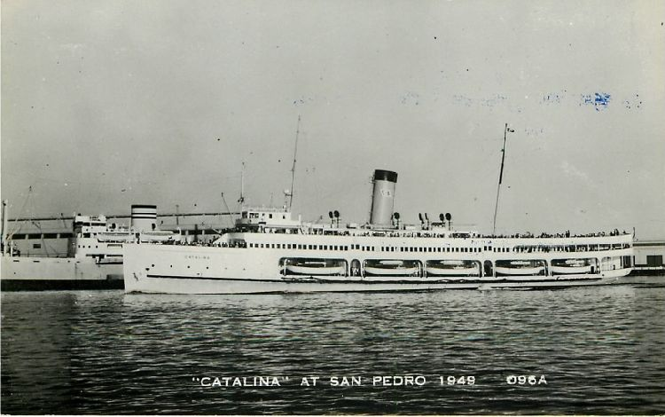 """Catalina"" at San Pedro 1949 - No. 096A"