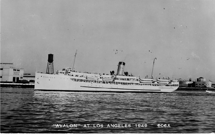 """Avalon"" at Los Angeles 1949 - No. 606A"