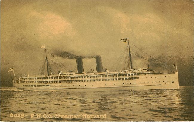 "8048- P.N. Co.'s Steamer ""Harvard"""