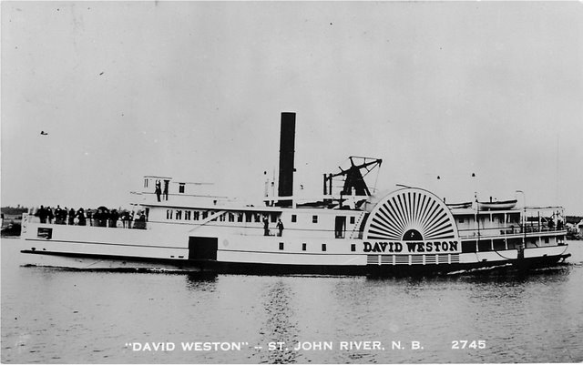 """David Weston"" --St. John River, N.B. No. 2745"