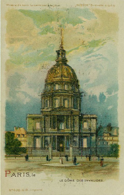 Paris - Le Dome des Invalides - France