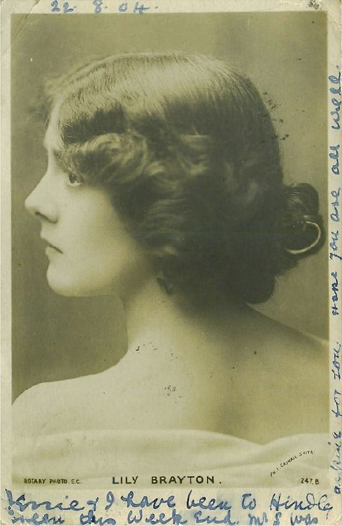 Lily Brayton with Bare Shoulders - No. 247 B Postcard