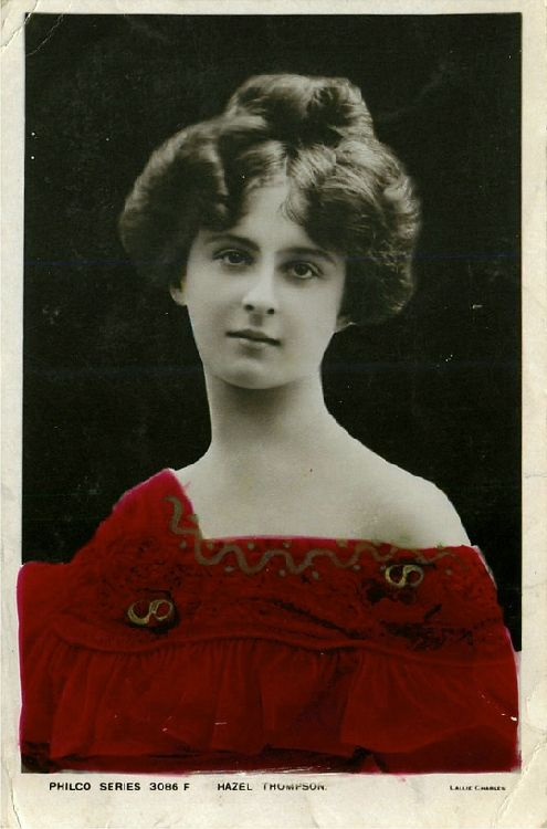 Hazel Thompson - No. 3086 F Postcard