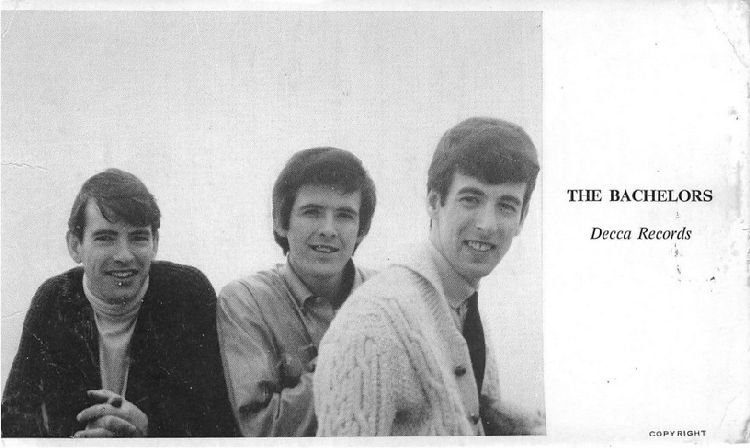 The Bachelors - Decca Records Postcard