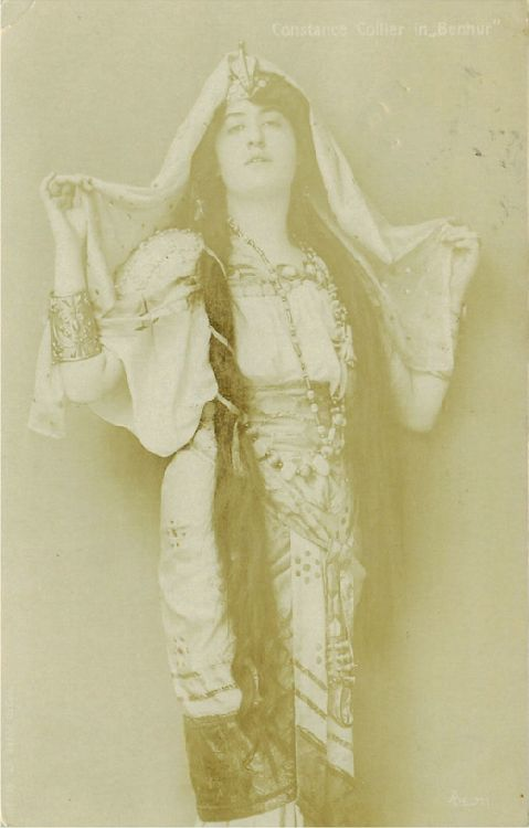 "Constance Collier in ""Benhur"" Postcard"