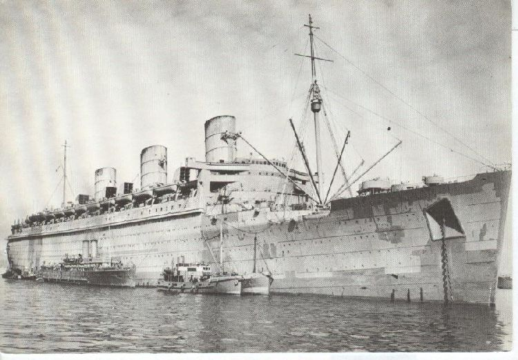 SS QUEEN MARY LINER