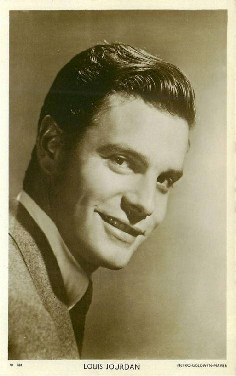 Louis Jourdan - No. W 768 Postcard