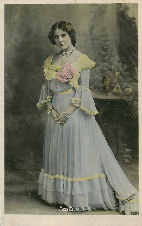 Miss Edna May - No. 9201 Postcard