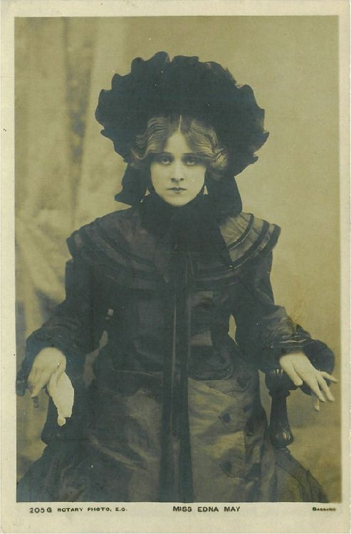 Miss Edna May - No. 205 G Postcard