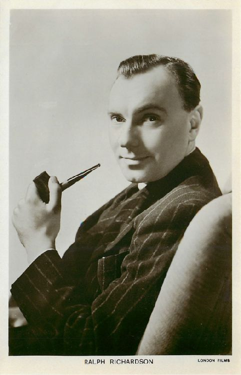 Ralph Richardson - No. 1216 Postcard