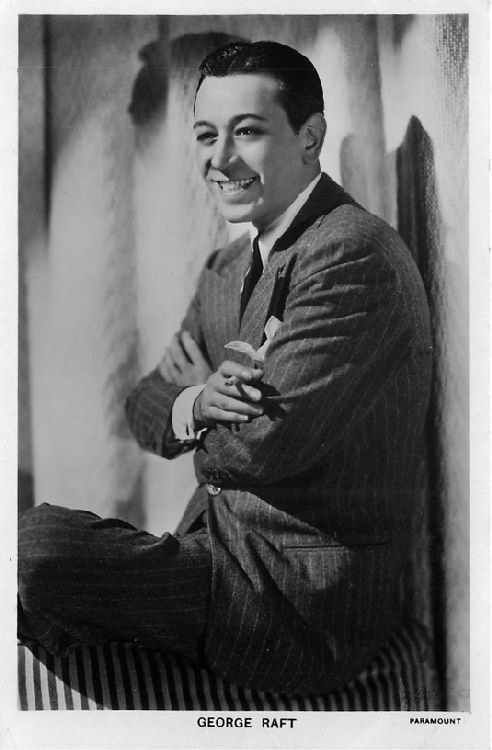 George Raft - No. 701b Postcard